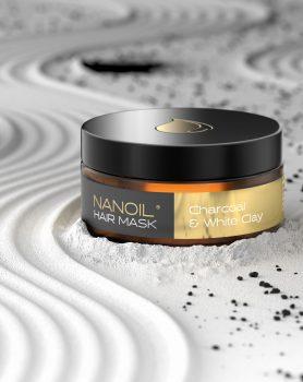 nanoil haarmaske mit aktivkohle